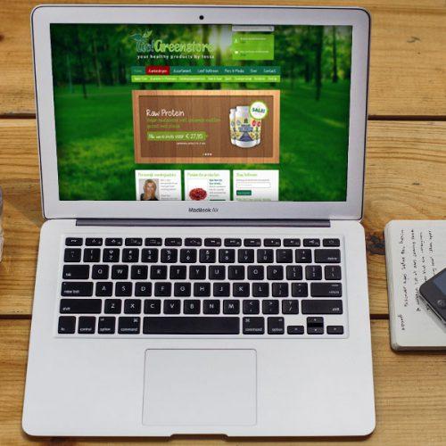 gogreenstore website
