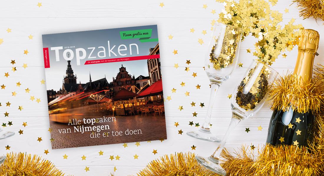 Topzaken, de nieuwe stadsgids voor Nijmegen