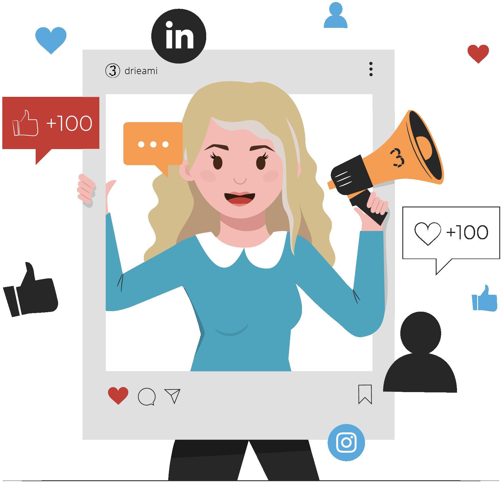 jessica social media online marketing facebook linkedin instagram