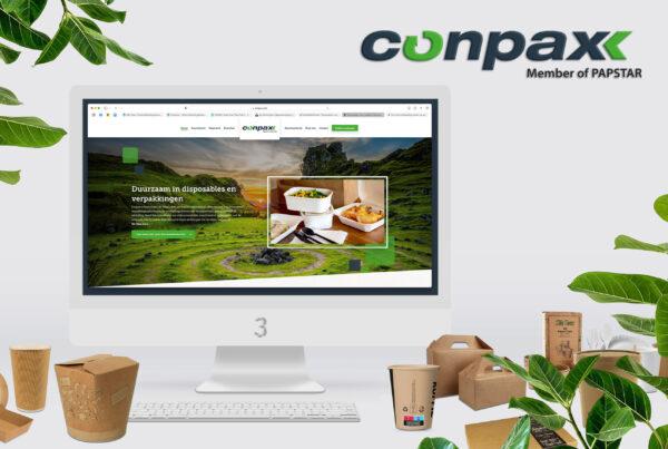 conpax nieuwe website video header
